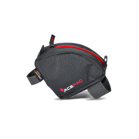 Acepac Tube Bag Bike Pannier grey/red